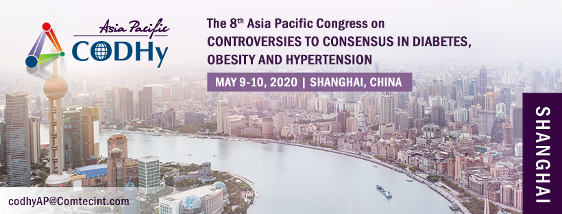 8th Asia Pacific Congress on Controversies to Consensus in Diabetes, Obesity and Hypertension -CODHy AP